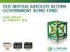 Old Mutual Absolute Return Government Bond Fund monthly update