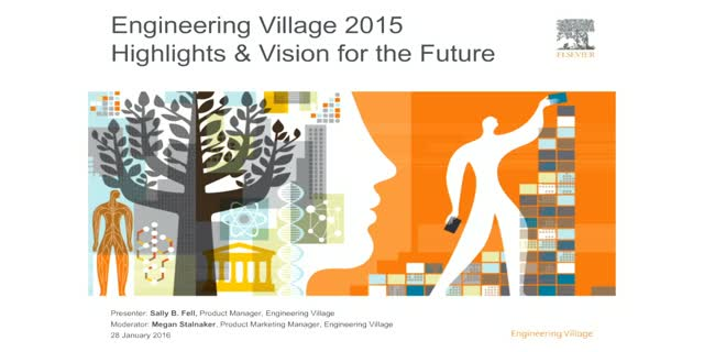 Engineering Village 2015 Top Highlights & Vision for Future