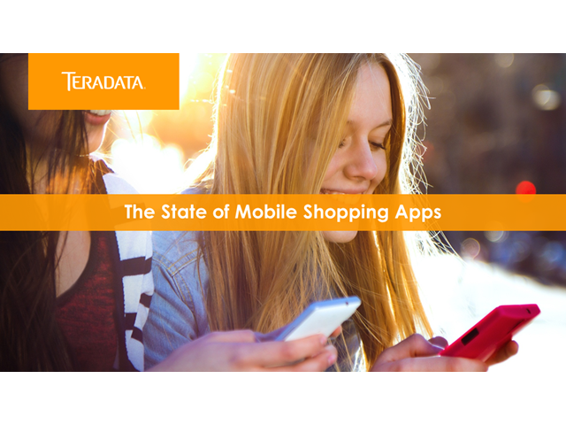 How do online retailers use mobile apps to engage their audience?