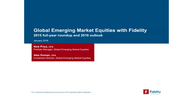 Emerging markets 2016: Harnessing opportunities in volatile markets