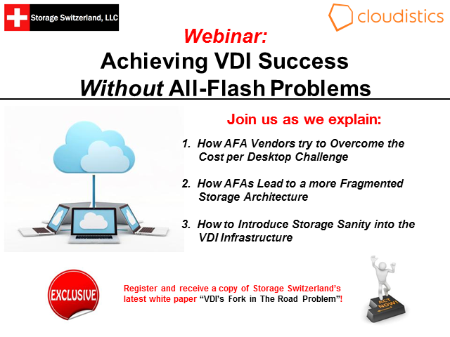 Achieving VDI Success Without All-Flash Problems