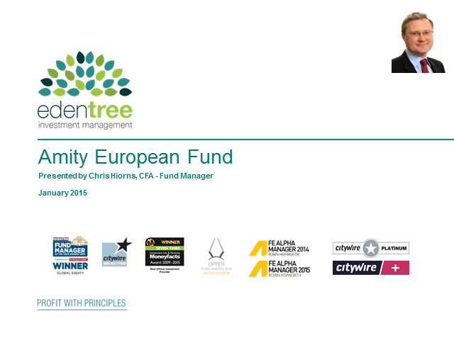 Amity European Fund Update