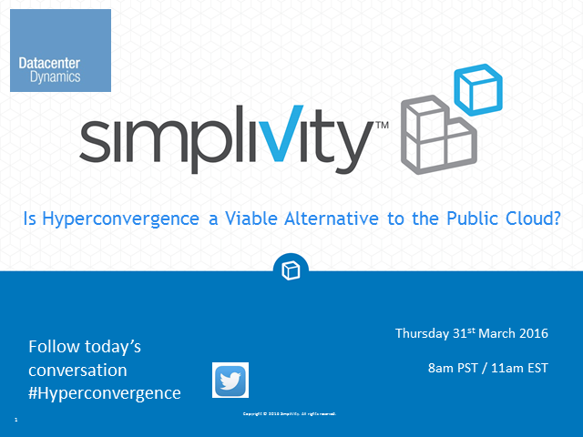 Is Hyperconvergence a Viable Alternative to the Public Cloud?