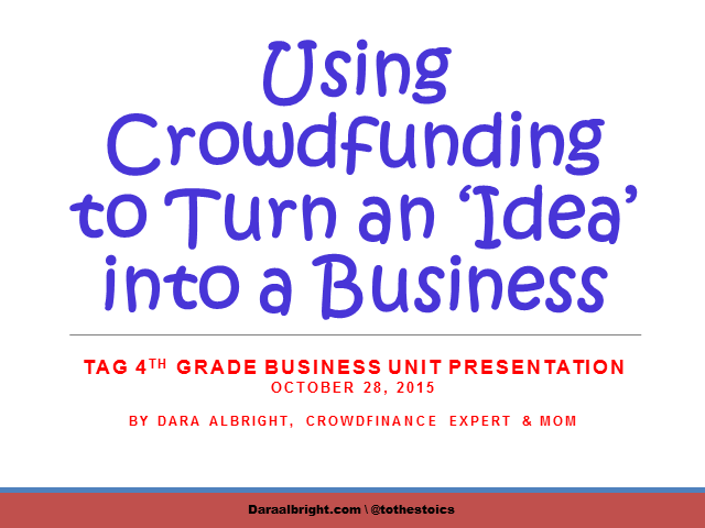 Using Crowdfunding to Turn an Idea into a Business