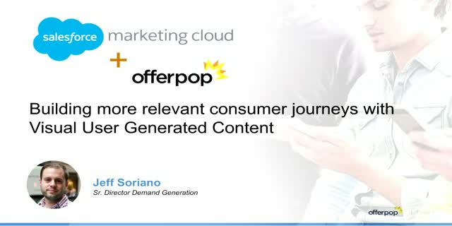 Partner Webinar Series: Increasing Consumer Engagement with UGC