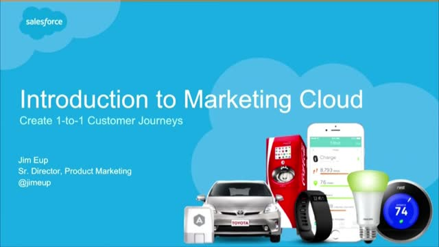Live Demo: Create 1-to-1 Customer Journeys with Marketing Cloud