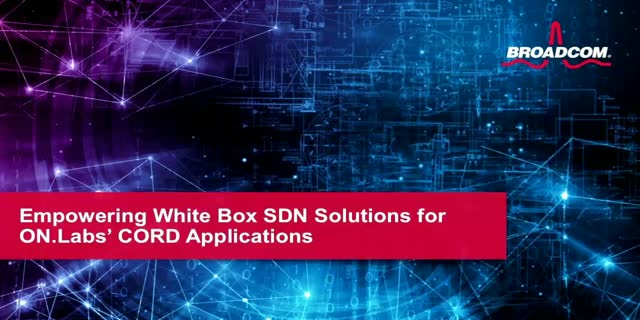 Empowering White Box SDN Solutions for ON.Labs' CORD Applications