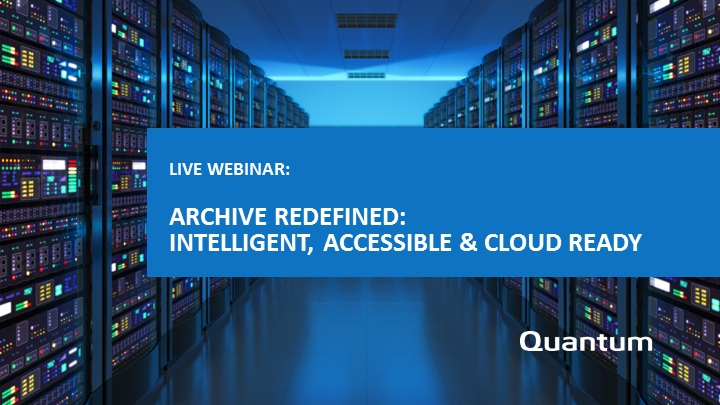 Archive Redefined: Intelligent, Accessible & Cloud Ready