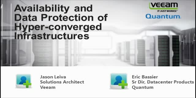Delivering Availability and Data Protection of Hyper-Converged Infrastructures