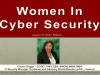 Women in Cyber Security