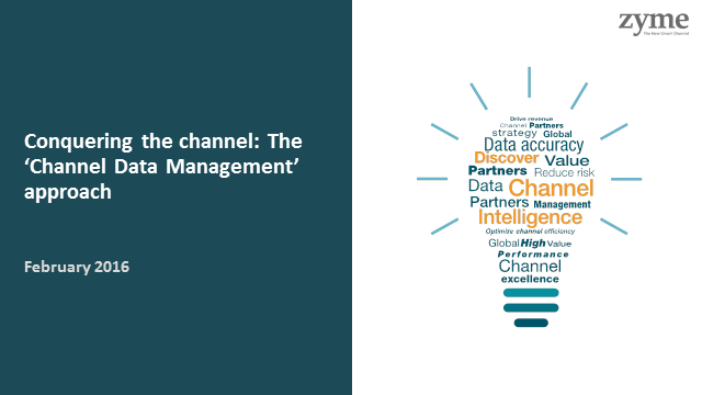 Conquering the channel: The 'Channel Data Management' approach