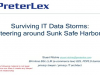 Surviving the Data Storms: Steering around Sunk Safe Harbors