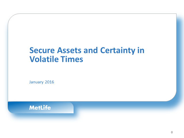 Adviser Webinar with Fidelity: Secure Assets and Certainty in Volatile Times