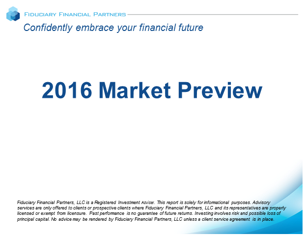 2016 Market Preview