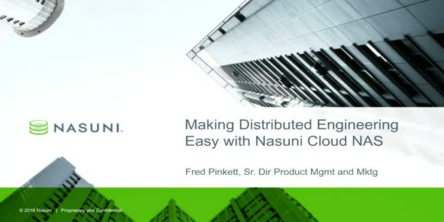 Making Distributed Engineering Easy with Cloud NAS