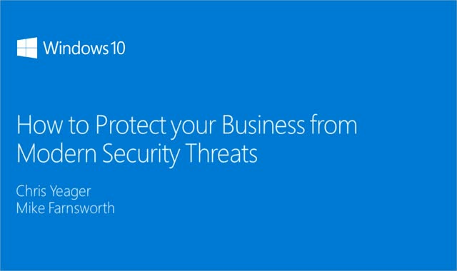 Windows 10: How to Protect your Business from Modern Security Threats