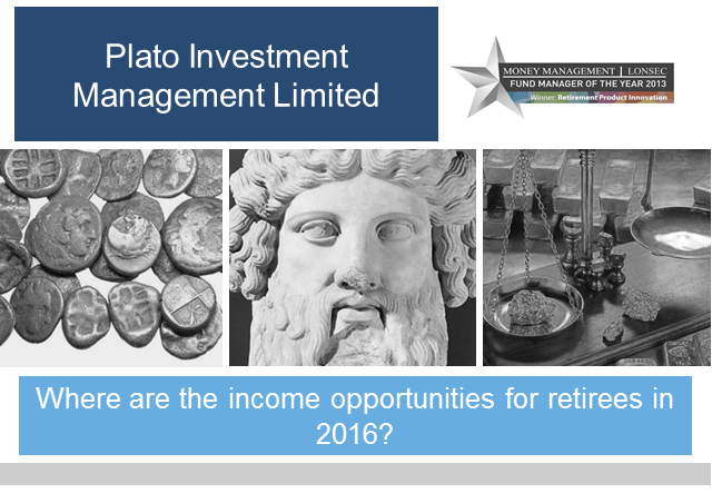 Where are the income opportunities for retirees in 2016?