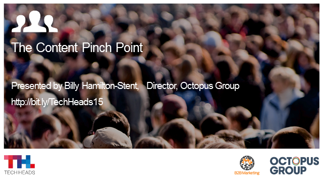 Webinar: The 'content pinch point'