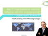 My IT improvement mantra - effective, efficient and energizing