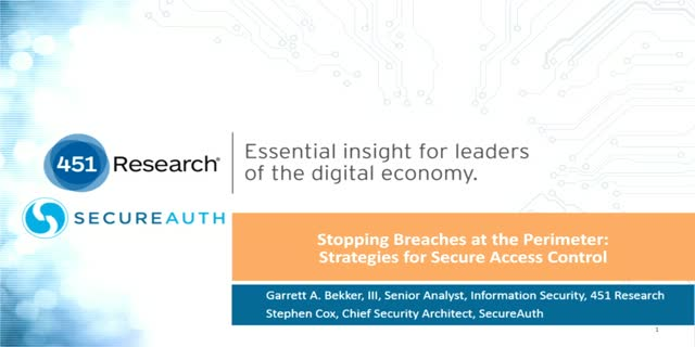 Stopping Breaches at the Perimeter: Strategies for Secure Access Control