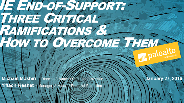 IE End-of-Support: Three Critical Ramifications and How to Overcome Them