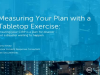 Measuring Your Plan with a Tabletop Exercise