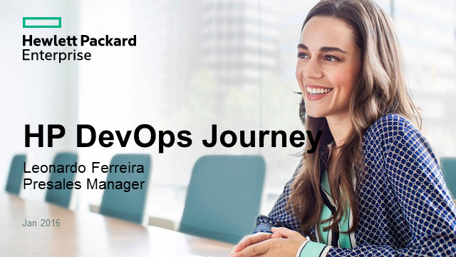 Jornada para a transformação/ DevOps: Jorney to value