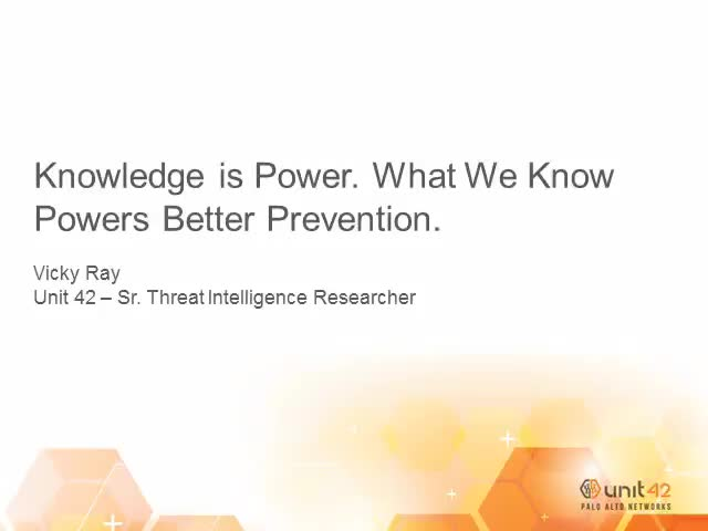 Prevention Week: Knowledge is Power. What we know powers better prevention.