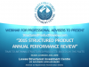 2015 STRUCTURED PRODUCT ANNUAL PERFORMANCE REVIEW