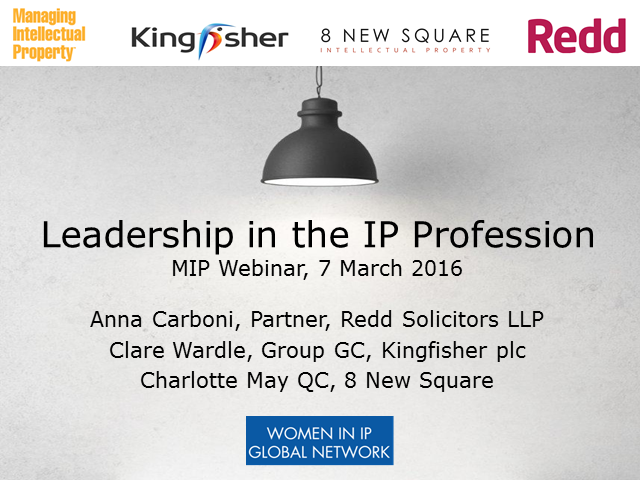 Leadership in the IP professions