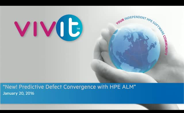 New! Predictive Defect Convergence with HPE ALM