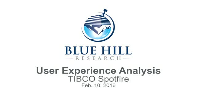 TIBCO Spotfire User Comparison & Analysis