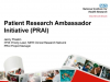 Patient Research Ambassador Initiative (PRAI)