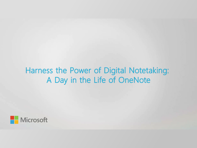 Harness the Power of Digital Notetaking: A Day in the Life of OneNote