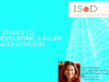 3 Stages to Developing a Killer Sales Strategy