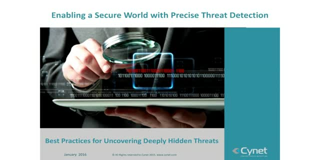 Best Practices for Uncovering Deeply Hidden Threats