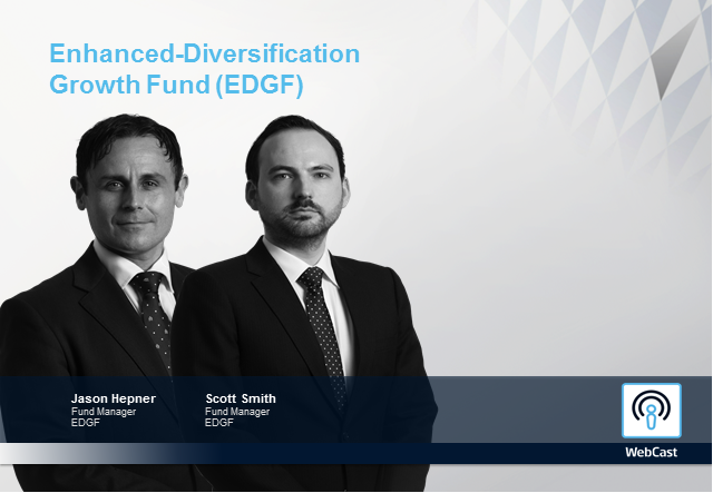 Enhanced-Diversification Growth Fund Update