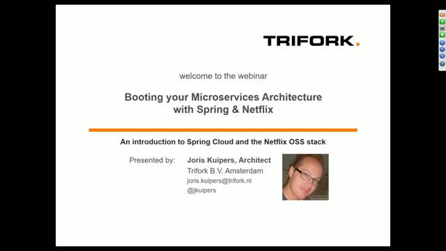 Booting your microservices architecture with Spring and Netflix