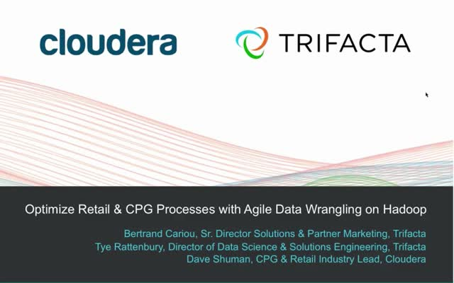 Optimize Retail & CPG processes with Agile Data Wrangling on Hadoop