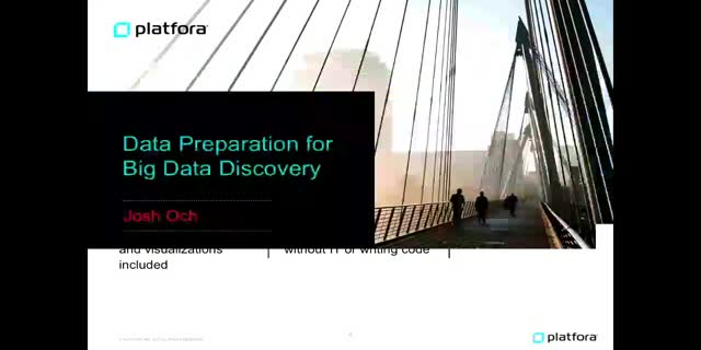 Jump Over the Data Preparation Hurdle with Platfora + Spark