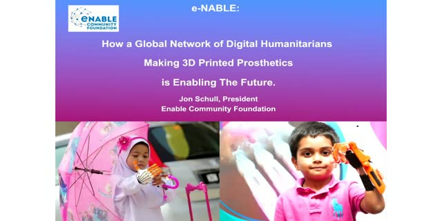 Enable: Global Network of Volunteers to Make Prosthetic Hands