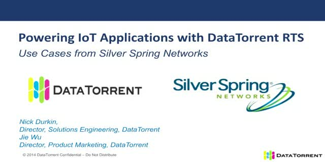 Powering IoT Applications With Real-time Streaming Technology