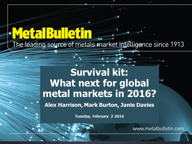What next for global metals in 2016? - Q & A