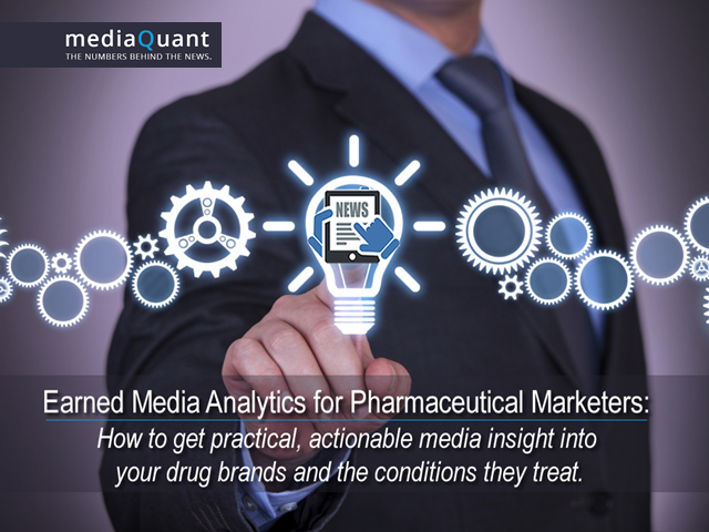 Earned Media Analytics for Pharma. Made Super Super Easy.