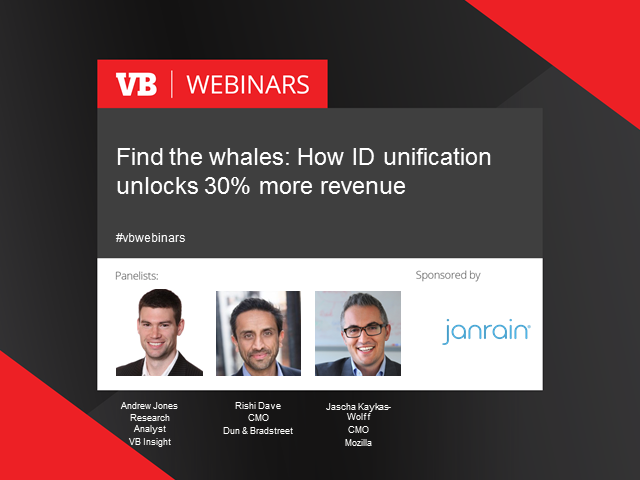 Find the whales: How ID unification unlocks 30% more revenue