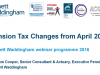 Pension Tax Changes from April 2016