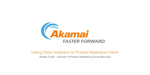 Using Data Analytics to Predict Malicious Intent