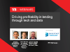 Driving profitability in lending through technology and data