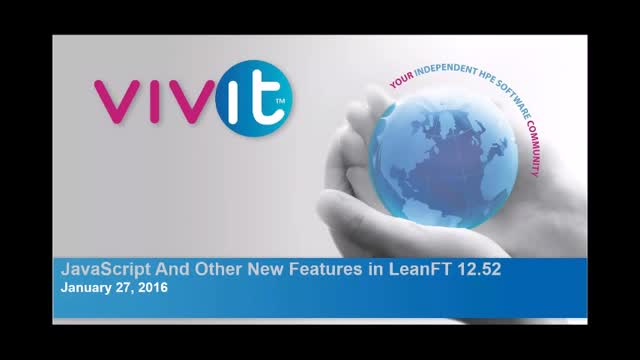 JavaScript and Other New Features in LeanFT 12.52