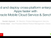 Build and deploy cross-platform enterprise apps faster with Oracle MCS & Sencha